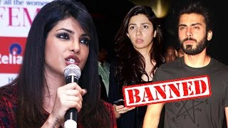 Priyanka Chopra SUPPORTS Pakistan Artists - Why Hang Only Artistes?