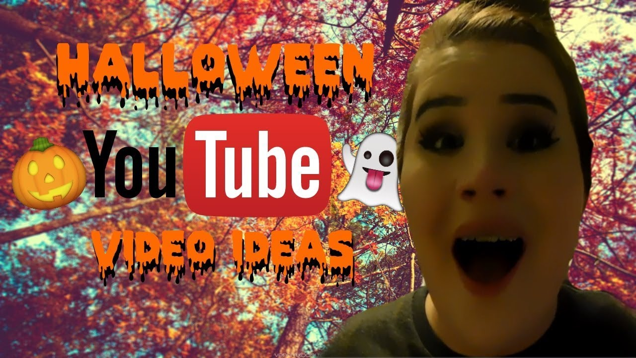 halloween youtube video ideas! | inspiration for creators for the