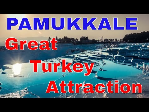 Pamukkale  🎥 Big natural attraction in Turkey 📷 What is Pamukkale - Ancient city of Hierapolis
