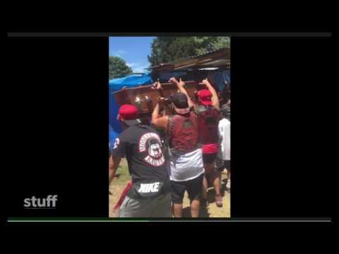 Kawerau Mongrel Mob and Whakatane Black Power shooting