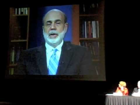 Bernanke on the Economy and Mortgage Meltdown