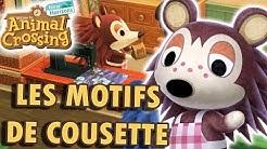 Personnaliser un Meuble avec un Motif de Cousette | Animal Crossing New Horizons
