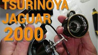 Tsurinoya JAGUAR 2000. (Trulinoya) - классная катушка үшін спиннинга Қытайдан!