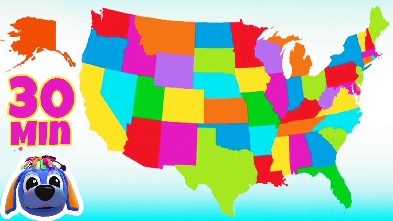 Nursery Rhymes And Kids Songs 50 States That Rhyme Raggs Tv