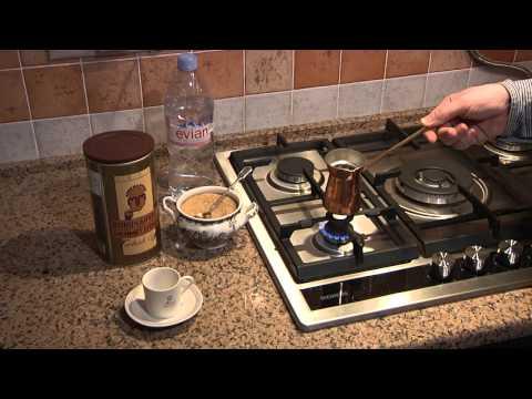 Как правильно варить кофе в турке на газовой плите пошагово видео