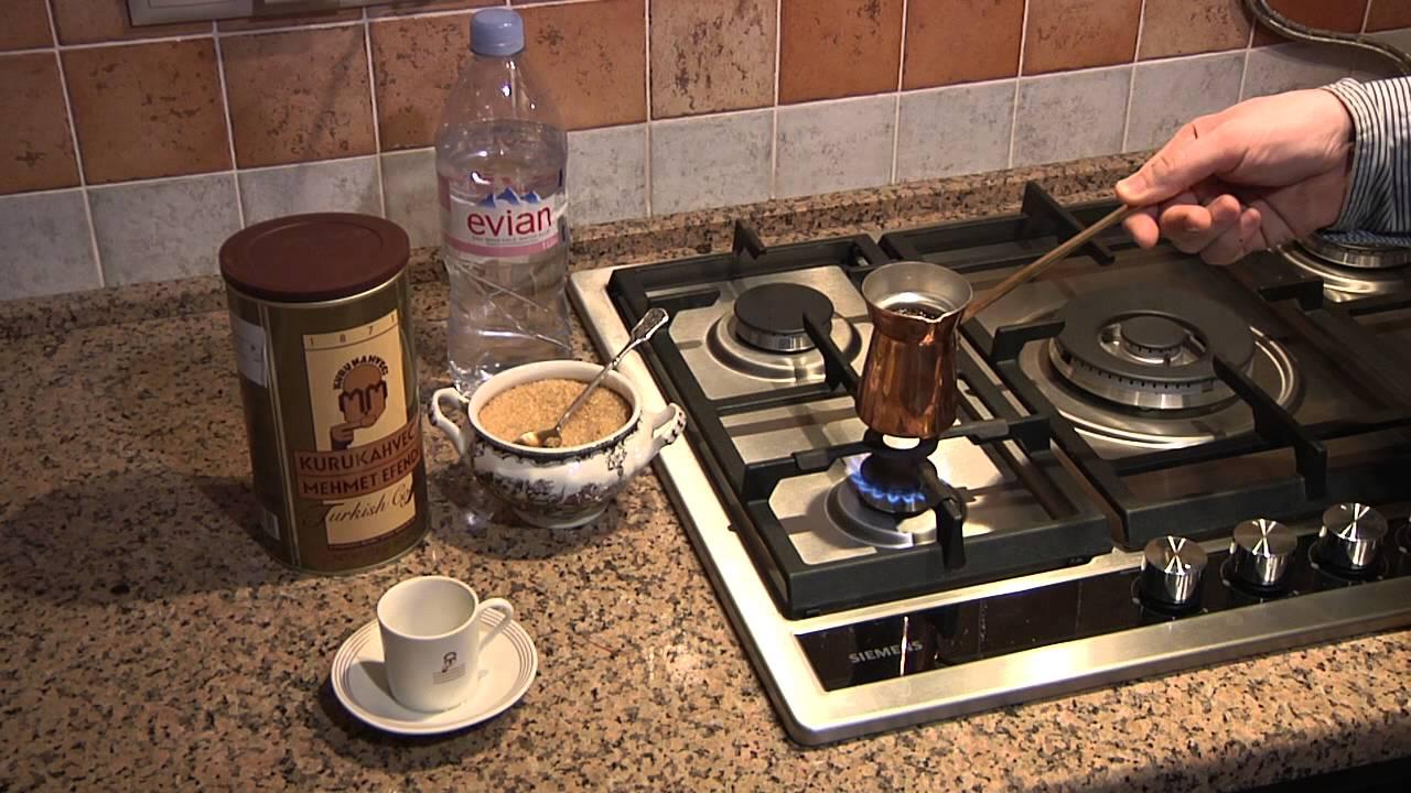 как приготовить кофе с молоком без турки