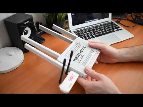 Как Подключить 3G-4G Модем к WiFi Роутеру Zyxel Keenetic C USB Портом