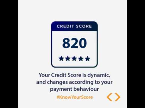 Your Credit Score is Dynamic!