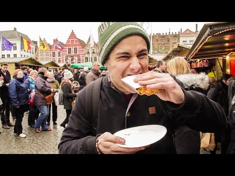 4 MUST EAT FOODS IN BELGIUM! | Wandergasm