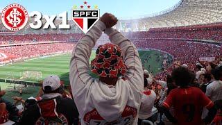 TANTO APOIO PRA NADA  INTERNACIONAL 3x1 SÃO PAULO