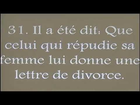 La lettre de divorce, une théologie mal interprétée (1)