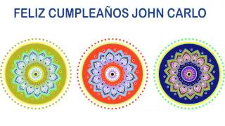 JohnCarlo   Indian Designs - Happy Birthday