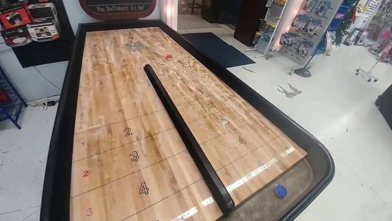 Bankshot Shuffleboards Available At Nelsonu0027s HTR