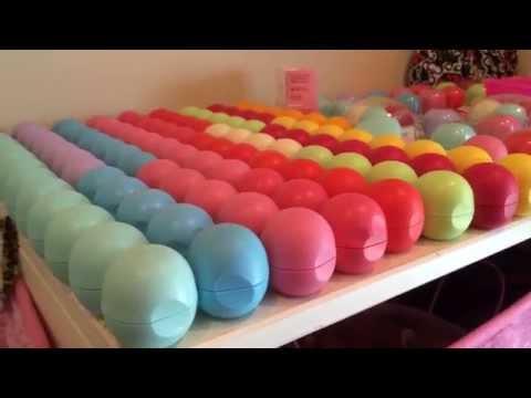 EOS lip balm collection!