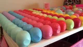 EOS lip balm collection!