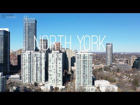 [4K] NORTH YORK TORONTO | ONTARIO | CANADA