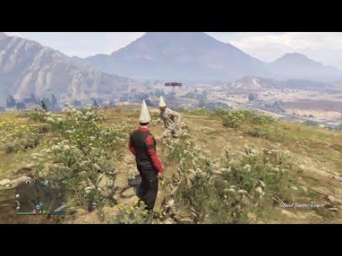 Gta Online: Funny Flare Gun Fail!