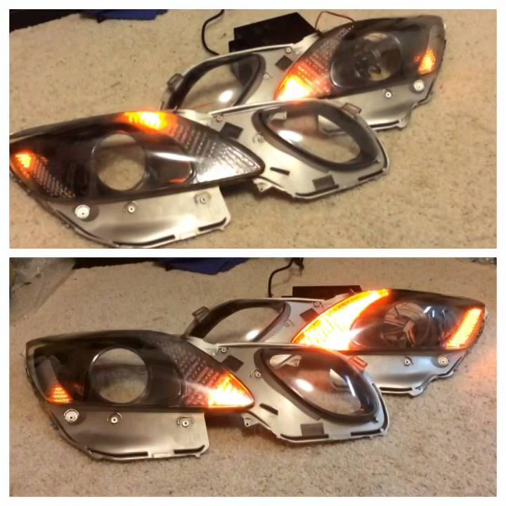 06 Lexus Is 350: Lexus GS 430 350 Headlights LED Patterns VIP