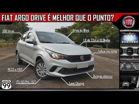 FIAT ARGO 1.0 DRIVE - Consegue ser melhor que o Punto 1.4?