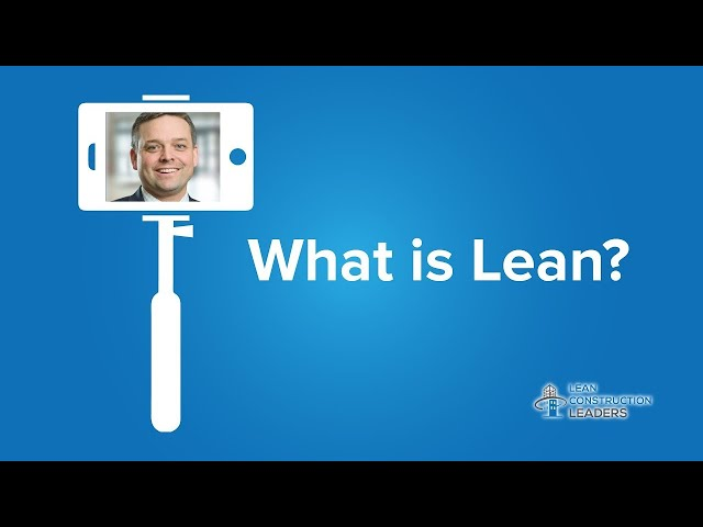 Nick Loughrin - What is Lean?