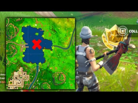 Search Between Three Boats - Fortnite Week 8 Challenges