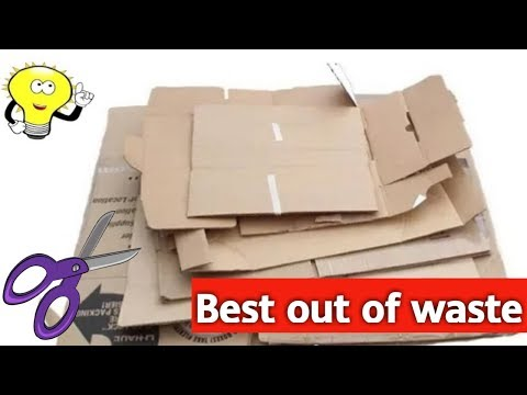 10 Best Out Of Waste Ideas - Waste Material Craft Ideas - Reuse