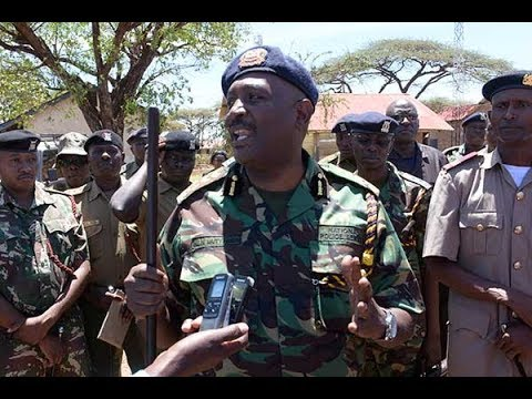 IG of Police Mutyambai vows to improve community policing on a tour of  Isiolo County