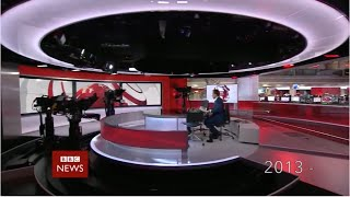 BBC News Intro Compilation 1954-2015 (HD)
