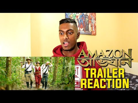 Amazon Obhijaan Trailer Reaction & Review...