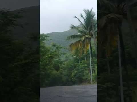 Fig tree hill drive in Antigua and Barbuda.