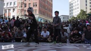 DEM BAGUE BOYZ vs. KROW & INTRICATE Final | YAK TO THE BAY Oakland 2014