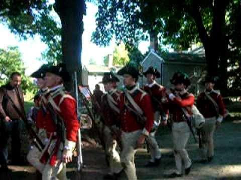 Part 6: Battle Of Germantown Revolutionary War Reenactment In Germantown, PA On October 2, 2010