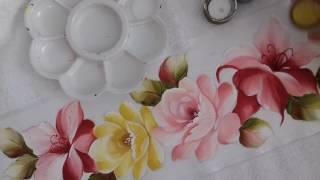 Pintura em Tecido – Aprenda Pintar Folhas e Fazer Acabamento