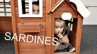 SARDINES IN A TINY TOWN!!   HIDE AND SEEK