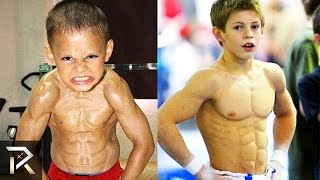 The Strongest Kids In The World(Top 10 of the most fit and strong young children in the world. Your next 2016 Mr Olympia competitors perhaps? Subscribe to our channel: http://goo.gl/9CwQhg ..., 2015-08-14T11:00:01.000Z)
