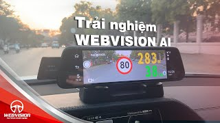 Trải nghiệm 2 tính năng mới trên camera hành trình Webvision