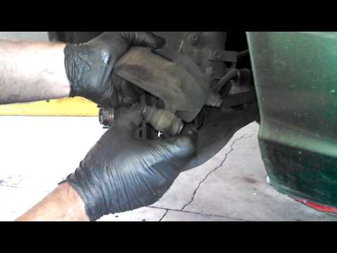 how to change front brake pads hyundai i40
