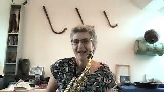 Why I like klezmer - Sarha Moore (saxophone)