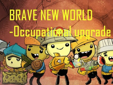 Occupational upgrade  - Starting a colony