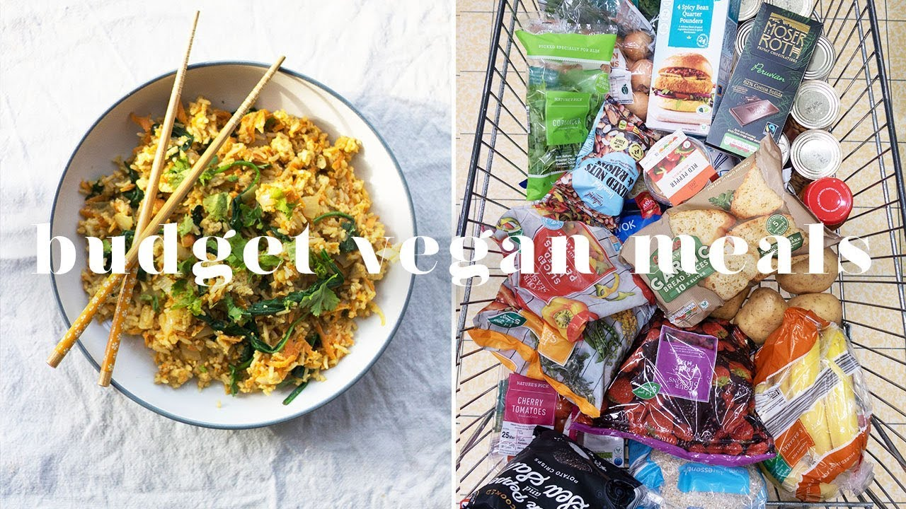 £12 VEGAN WEEKLY BUDGET MEALS FROM ALDI 💰