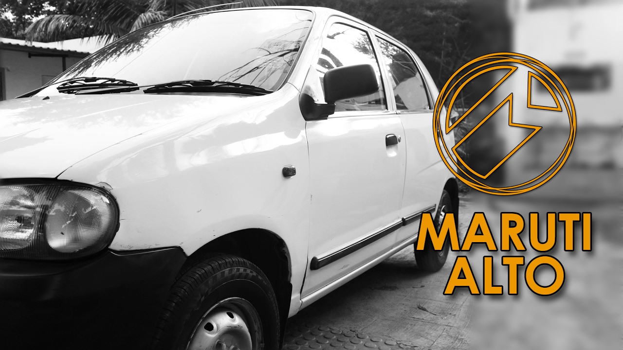 10 Yrs Old Maruti Alto Complete Detailing Service
