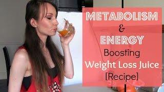 Metabolism & Energy Boosting Weight Loss Juice Recipe