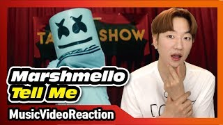 Marshmello - Tell Me (Official Music Video) [Reaction]