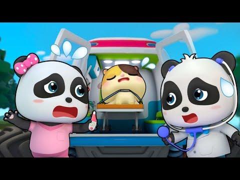 아픈 친구 구조해요|몬스터차구조대 출동!|베이비버스 인기동화 동요모음|BabyBus