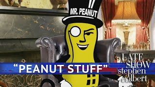 Mr. Peanut Responds To Trump's 'Peanut Stuff'