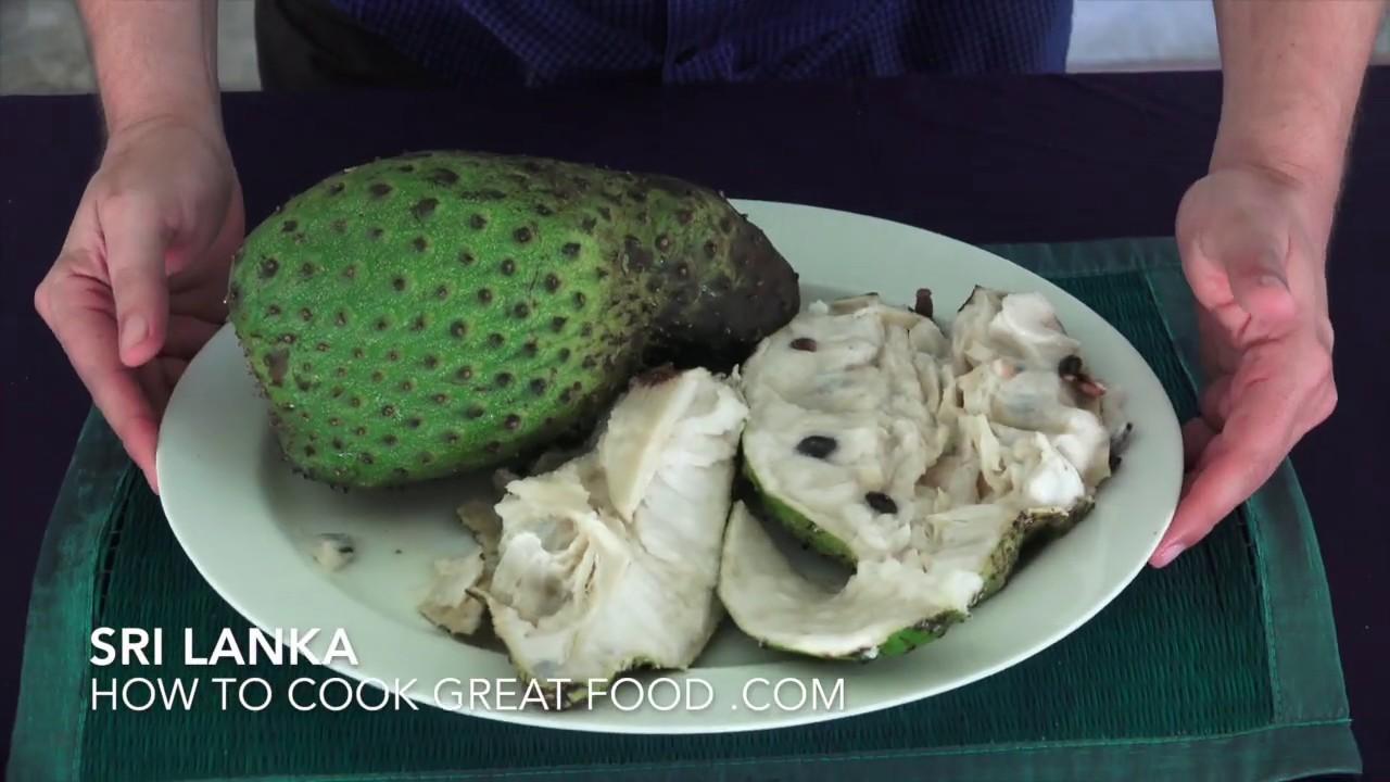 SourSop Fruit - How to Eat Soursop - SourSop - Sour Sop - Graviola