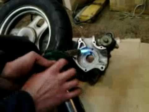 сборка двигателя Honda Dio на