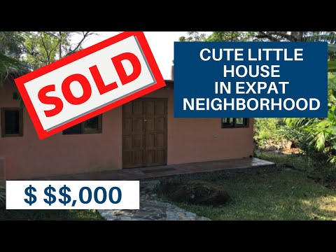 Cute House For Sale Lake Atitlan Guatemala