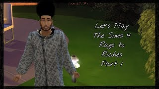 Let's Play The Sims 4 Rags To Riches Part 1: Introduction