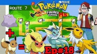 Como Ter todas as Evoluções do Eevee Pokémon Fire red Ep#18 (Pokémon Fire Red)